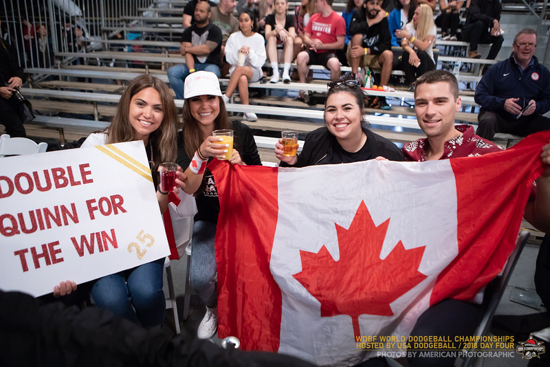 Dodgeball World Championships 2018 Day Four