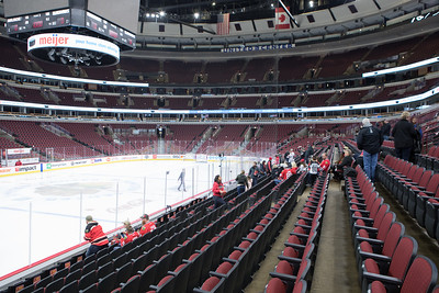 Kings Play at the United Center