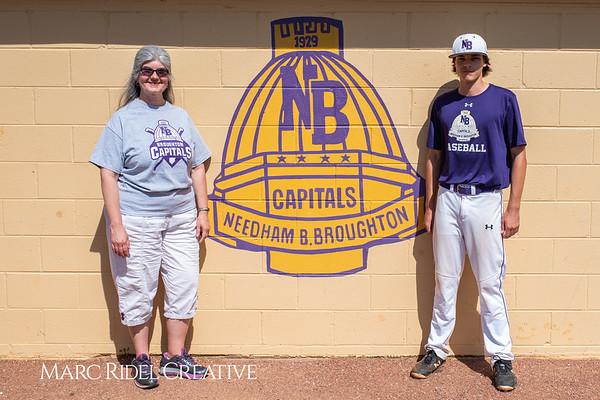 Broughton varsity baseball vs Sanderson. April 24, 2019. 750_0131