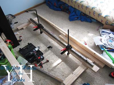 A Simple Platform Bed