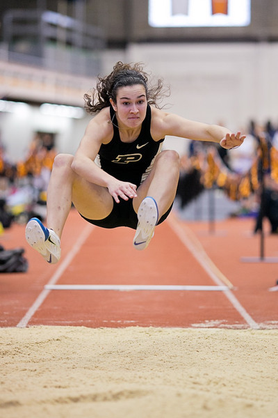 Photo of the weekend - Emily Watkins in her second of five (5!) events from this week's Boilermaker Invitational.
