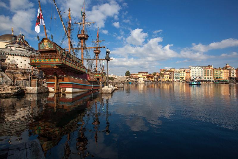 Tokyo DisneySea. Editorial credit: Andreas H / Shutterstock.com