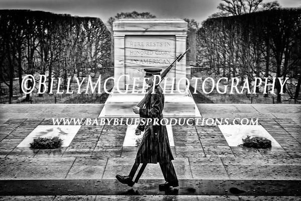 Arlington National Cemetery  - 11 Jan 2014