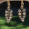 1.85ctw Victorian Leaf Component Earrings 9