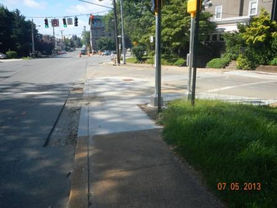 Concord Avenue Streetscape </br> Wilmington, DE