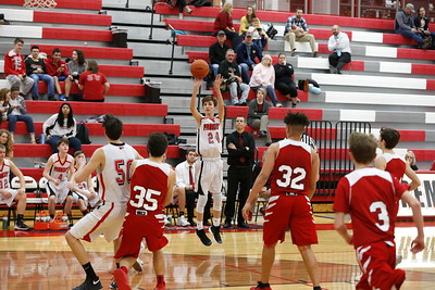 Boys JV Basketball - 2/8/2018 Big Rapids