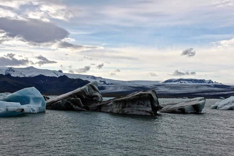 At Svinafellsjokull - photo by Ron R.