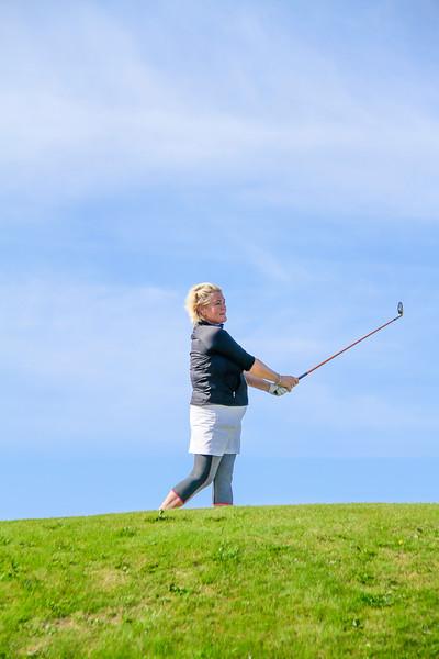 Ragnhildur Sigurðardóttir.  Íslandsmót golf 2019 Grafarholt - 1. keppnisdagur. Mynd: seth@golf.is