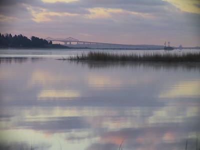 Wickford Harbor at Dawn