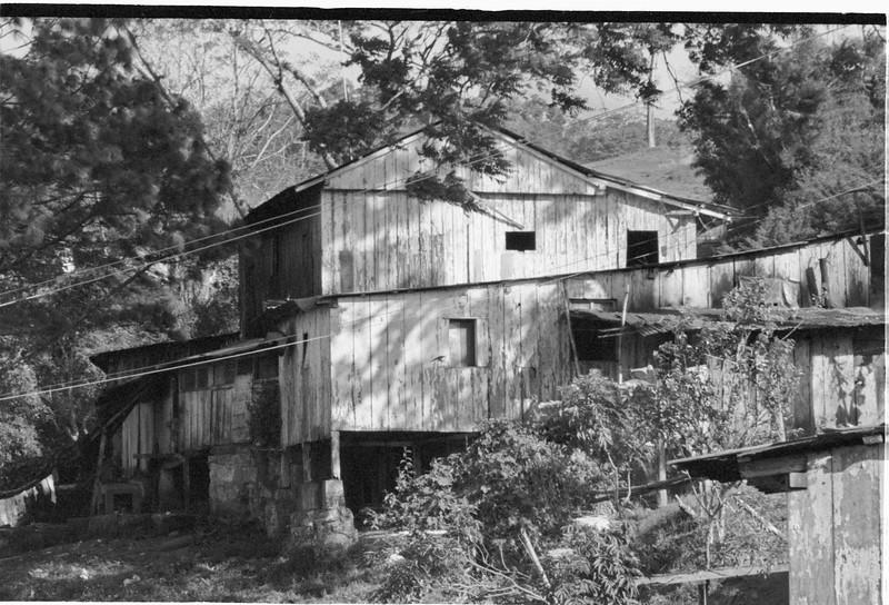 Building on the Coffee Cooperative, Matagalpa, Nicaragua 1987