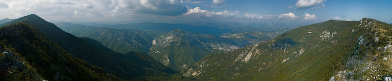 Alpes-Maritimes mountains
