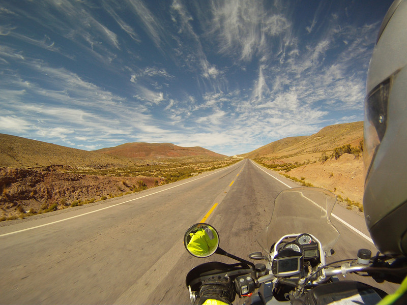 2/4: R1200GS Chile, South America - the journey between La Paz and Potosi, Bolivia