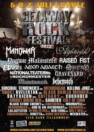 OZ - Getaway Rock Festival 6/7 2012