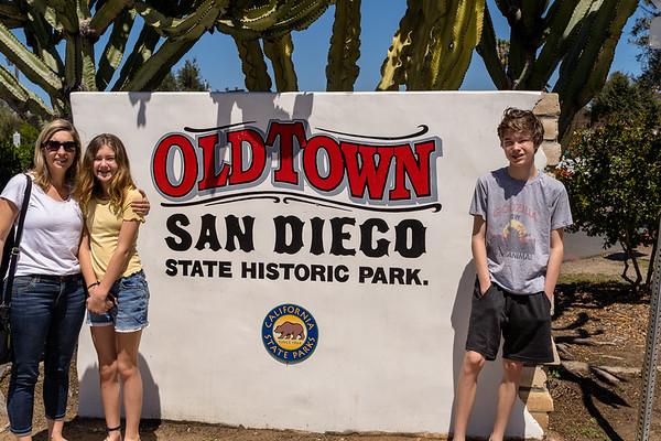 Family Trip to San Diego April 2021