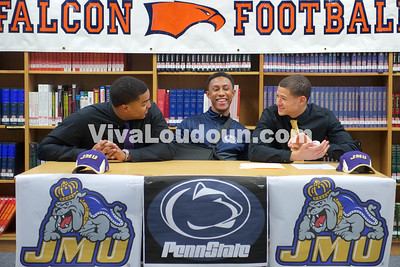College Signings: Briar Woods Football Signing (Feb 4, 2015)