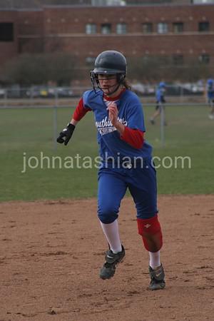 Southington Blue Knight Girls Softball - April 6, 2006