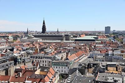 Copenhagen seen from above