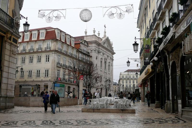 Largo do Chiado. Bairro Alto, Lisbon