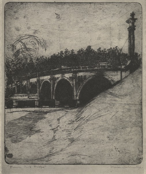 1916, Buena Vista Street Bridge