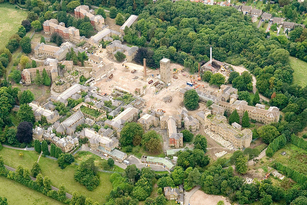 Cane Hill Asylum demolition 2008