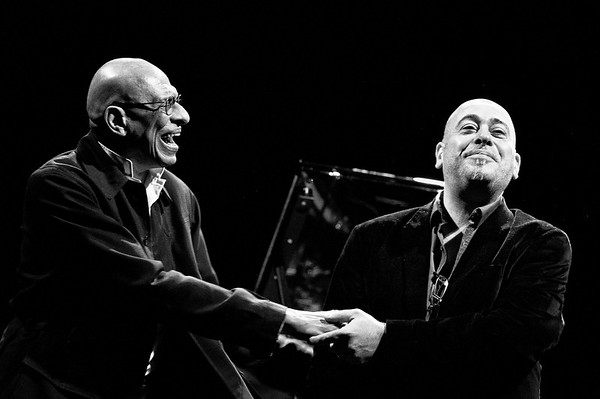 Stephane Belmondo et Kirk Lightsey à Vincennes le 23 mars 2013