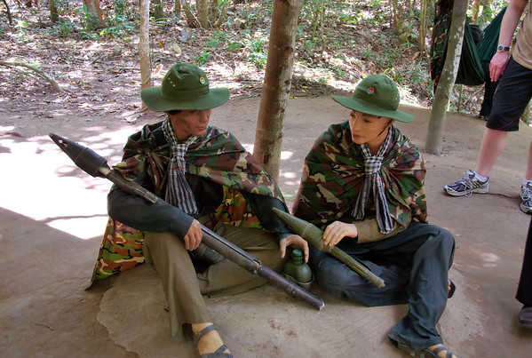 June 7 - Cu Chi Tunnels and Museum