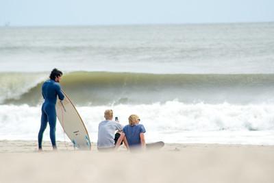 Hurricane Waves - Rockaway Beach