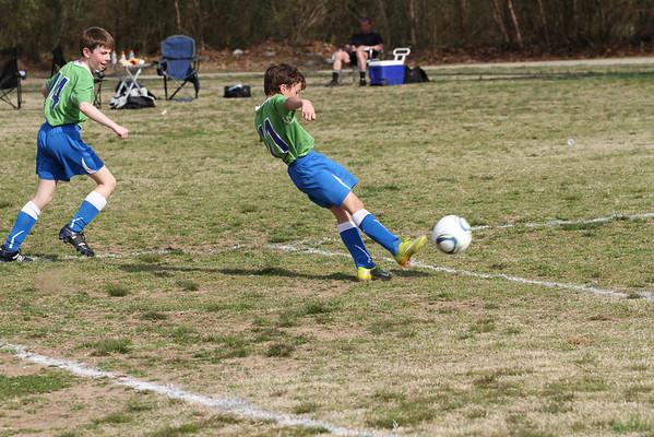 U10 Boys vs Concorde Fire South 3-19-2011