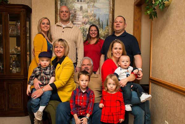 Kaye Glow and Family