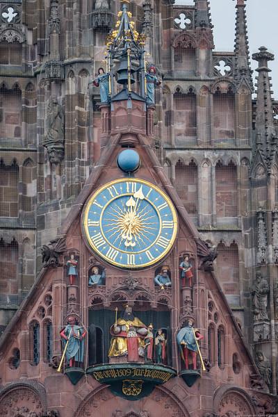 Nuremberg's Animated Clock