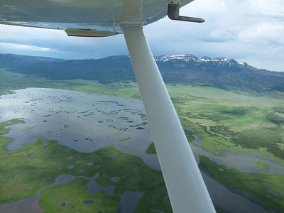 Flying N8233Z Ennis, MT to Napa, CA  July 2011