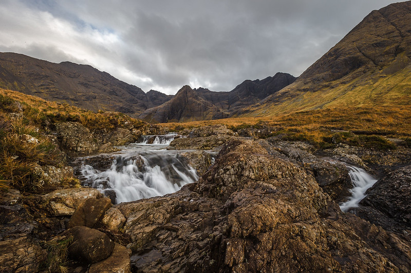 Fairy Pools And Mountains