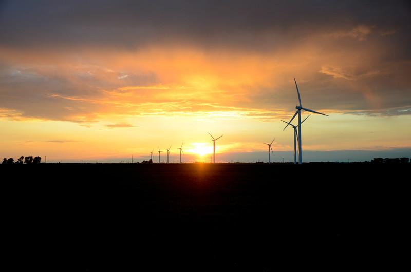 Turbine Sunset
