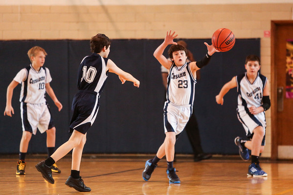 Feb 1 - BBall - 6th Gr Boys vs OLV