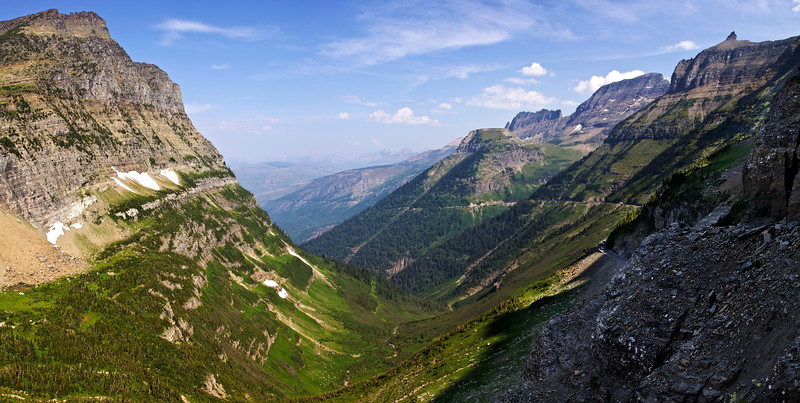 View from Logan Pass (MT)