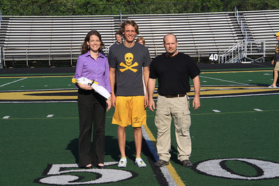 2012-05-02 Centerville Elk Track and Field - Senior Recognition