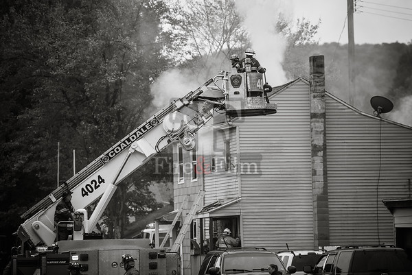 Schuylkill County - Tamaqua Borough - 2nd Alarm Dwelling Fire - 10/13/2017
