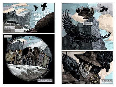 Vargöld, the comic book
