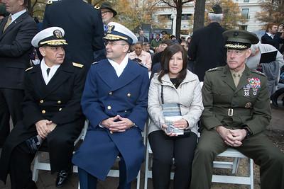 National World War I Memorial Ceremonial Groundbreaking (Nov. 9, 2017)