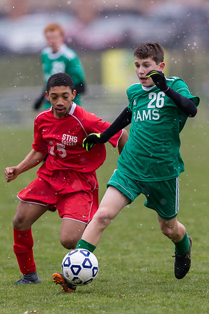 2018-04-09 | Boys MS Soccer | Central Dauphin @ Susquehanna Township