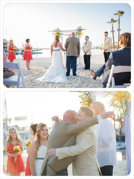 Bahia Resort San Diego - Beach Wedding Ceremony William D Evans Boat Reception-7253 dad hug.jpg