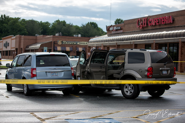 Kernersville Parking Lot Accident 6-7-13