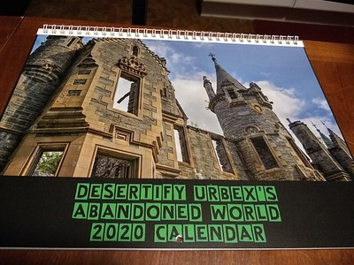 12-11-19 Desertify Urbex Abandoned World 2020 Calendars