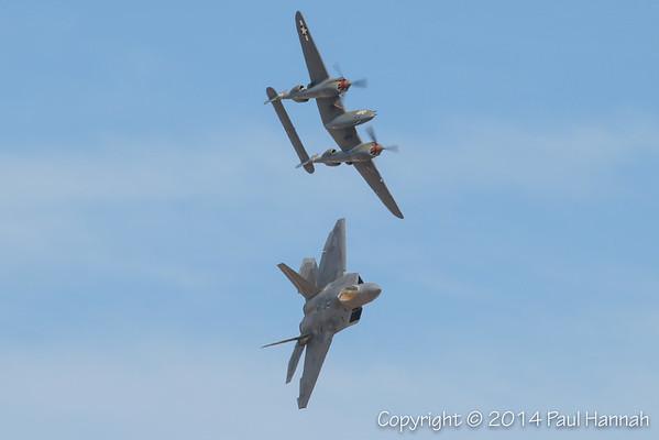 2014 Heritage Flight Training - Davis-Monthan AFB, Tucson, AZ