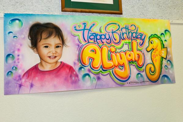 Aliyah Medeiros Birthday Party 2 Years Old (12/02/11)