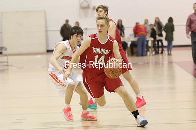 Boys Sectional Basketball — Plattsburgh High vs. Saranac