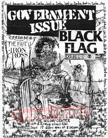 Government Issue - Black Flag