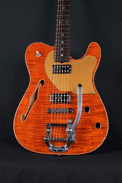 NOS HT Thinline #3917, 6120 Orange, TV Jones Pickups