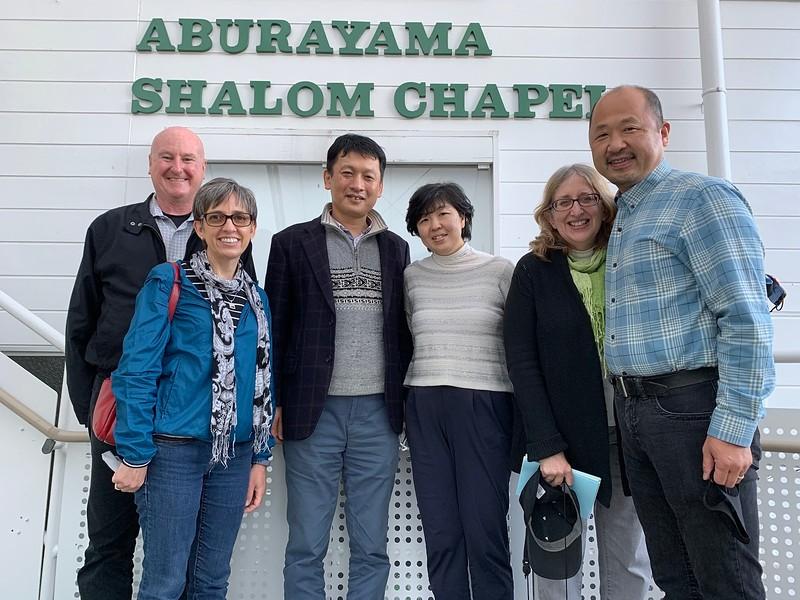 The Handleys with Rev. & Mrs. Yokota Houjiel & the Takazawas