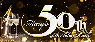 Marys 50th Birthday Bash
